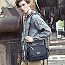 olcso Keresztpántos táskák-Férfi / Uniszex Cipzár Vászon Vállon átvetős táska Tömör szín Kávé / Tengerészkék / Khakizöld / Ősz & tél