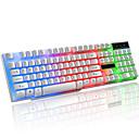 billiga Keyboards-LITBest K6 USB-kabel gaming tangentbord Spel Vattentät Multi färg bakgrundsbelysning 104 pcs Keys
