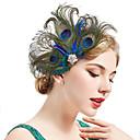Χαμηλού Κόστους Κοστούμια, Αξεσουάρ & Κοσμήματα-Τσάρλεστον Βίντατζ 1920s Gatsby Κορδέλα μαλλιών του 1920 Γυναικεία Στολές Πράσινο Πεπαλαιωμένο Cosplay Φεστιβάλ