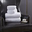 billige Vaskehåndklæ-Overlegen kvalitet Vaskehåndklæ, Ensfarget 100% Polyester Baderom 1 pcs