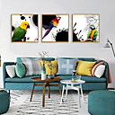cheap Abstract Paintings-Framed Art Print Framed Set - Animals PS Illustration Wall Art