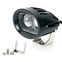 זול תאורת אופנוע-1pcs מכונית נורות תאורה 10 W 2 LED פנס ראש עבור אוניברסלי כל השנים