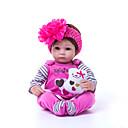 Χαμηλού Κόστους Κούκλες σαν αληθινές-Κούκλες σαν αληθινές Μωρά Κορίτσια 18 inch Παιδικό / Εφηβικό Παιδικά Γιούνισεξ Παιχνίδια Δώρο