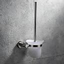 Χαμηλού Κόστους Θήκη Βούρτσας Τουαλέτας-Βάση πιγκάλ Δημιουργικό Σύγχρονο Ανοξείδωτο Ατσάλι 1pc - Μπάνιο Επιτοίχιες