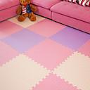 baratos Adesivos de Parede-Yiwu pho_027x padrão de espuma eva puzzle floor mat 30 * 1.0 [peça única com tira de borda] _Blue