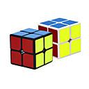 billige Bensinsystemer-24 stk Magic Cube IQ-kube 4*4*4 Glatt Hastighetskube Magiske kuber Kubisk Puslespill Lett å bære Leketøy Gave