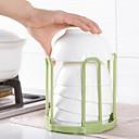 baratos Frascos e Caixas-1pç Prateleiras e Suportes Plásticos Armazenamento Para utensílios de cozinha