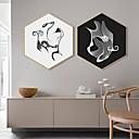 Χαμηλού Κόστους Εκτυπώσεις σε Κορνίζα-Εκτύπωση Τέχνης σε Κορνίζα Καμβάς σε Κορνίζα Πριντ - Αφηρημένο Πολυστυρένιο Εικόνα Wall Art
