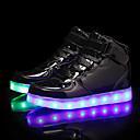 Χαμηλού Κόστους Παιδικά αθλητικά-Αγορίστικα LED / Φωτιζόμενα παπούτσια PU Αθλητικά Παπούτσια Τα μικρά παιδιά (4-7ys) / Μεγάλα παιδιά (7 ετών +) Μαύρο / Χρυσό / Μπλε Φθινόπωρο / Καοτσούκ