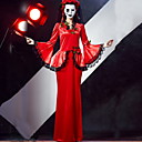 Χαμηλού Κόστους Συμπλέγματα μπλοκαρίσματος-Φανταστική νύφη Στολές Γυναικεία Τρομακτικά Halloween Επίδοση Θεματικό κόμμα Κοστούμια Γυναικεία Στολές χορού Τερυλίνη Δαντέλα