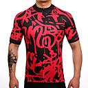 Χαμηλού Κόστους Τζάκετ Ποδηλασίας-Fastcute Ανδρικά Κοντομάνικο Φανέλα ποδηλασίας Μαύρο / Κόκκινο Ποδήλατο Αθλητική μπλούζα Μπολύζες Ποδηλασία Βουνού Ποδηλασία Δρόμου Αναπνέει Ύγρανση Γρήγορο Στέγνωμα Αθλητισμός Πολυεστέρας Ταφτάς