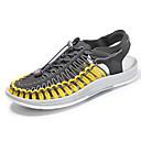 ราคาถูก รองเท้าแตะผู้ชาย-สำหรับผู้ชาย รองเท้าสบาย ๆ ตารางไขว้ ฤดูร้อน Sporty รองเท้าแตะ รองเท้าน้ำ ระบายอากาศ ลายบล็อคสี สีดำและสีขาว / แดง / ฟ้า