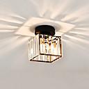 billiga Takfasta och semitakfasta taklampor-CONTRACTED LED® Kristall / geometriska Utomhus Glödande Glas Kristall, Ministil, Kreativ 110-120V / 220-240V