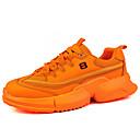 Χαμηλού Κόστους Αντρικά Αθλητικά Παπούτσια-Ανδρικά Παπούτσια άνεσης PU Καλοκαίρι Καθημερινό Αθλητικά Παπούτσια Περπάτημα Αναπνέει Πορτοκαλί / Κίτρινο / Πράσινο