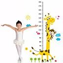 billige Veggklistremerker-Dongguan st107036q185 barnerom barnehage sjiraff høyde klistremerker 60 * 90 typografi 60-180cm