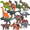 billiga Action- och leksaksfigurer-12 pack dinosaurier modell passar actionfigurer leksak