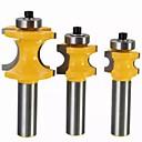 baratos TWS Fones de ouvido sem fio verdadeiros-Broca rb24 22.2 / 25.4 / 35mm 1/2 polegada shank carboneto de fresa ferramenta de escultura em madeira ferramenta