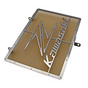 Χαμηλού Κόστους Αξεσουάρ για εργαλεία κουζίνας-από ανοξείδωτο χάλυβα μοτοσικλέτα ψυγείο προστατευτικό καλύμματος προστατευτικού καλύμματος για kawasaki z750 z800 zr800 z1000 z1000sx