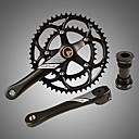 ราคาถูก เฟืองจักรยานและระบบขับเคลื่อน-ข้อเหวี่ยง สำหรับ จักรยานใช้บนถนน / จักรยานปีนเขา Aluminum Alloy ลดการถลอก / ทนทาน / Easy to Install จักรยาน สีดำ