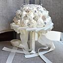 baratos Cortinas 3D-Bouquets de Noiva Buquês Casamento / Festa de Casamento Gorgorão / vidro / Liga de alumínio e magnésio 11-20 cm