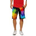 baratos Sapatos de Jazz-Yiwu pby_0c7p calças de praia de verão masculinas de secagem rápida na praia calças de surf casuais tamanho grande calças de cinco pontos shorts de casal calças de praia (produtos neutros) pintura a t