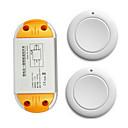 baratos Interruptor Inteligente-Ac220v 1ch interruptor de controle remoto sem fio / ac85v-250 v ac110v luz / lâmpada de energia on / off 10a receptor de relé 433 mhz