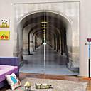 Χαμηλού Κόστους Καθρέφτες-απλό σχέδιο χονδρικής 100% πολυέστερ κουρτίνα ύφασμα παχύ αδιάβροχο mouldproof θερμομόνωση κουρτίνες συσκότισης για το γραφείο / σαλόνι