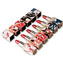 Χαμηλού Κόστους Εξτένσιον από Ανθρώπινη Τρίχα-6 pcs 6 Χρώματα Αδιάβροχη / Φορητά / Μοδάτο Σχέδιο Ματ Αδιάβροχη / Ομορφιά / Καθημερινά Παγκόσμιο / Μοντέρνα Μακιγιάζ Καλλυντικό Είδη καλωπισμού
