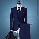 זול חליפות רטובות,חליפות צלילה וחולצות ראש-גארד-בגדי ריקוד גברים שחור אפור כהה כחול נייבי US40 / UK40 / EU48 US42 / UK42 / EU50 US44 / UK44 / EU52 חליפות מידות גדולות אחיד רזה