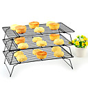 billiga Bakredskap-3pcs Rostfritt stål Multifunktion Kreativ Köksredskap GDS (Gör det själv) Bröd Kaka Multifunktion cakestand Pie Verktyg Bakeware verktyg