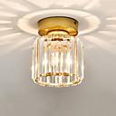 ราคาถูก ไฟเพดาน-CONTRACTED LED® คริสตัล / ทางเรขาคณิต ไฟระย้า Ambient Light แก้ว คริสตัล, Mini Style 110-120โวลล์ / 220-240โวลต์