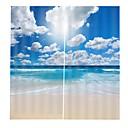 baratos Cortinas 3D-Hot new digital cortinas de impressão espessamento cortina de tecido sombra cheia para sala de estar à prova d 'água anti-rugas poliéster puro cortinas de chuveiro