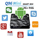 baratos Fechadura da porta-Factory OEMTV BOX X96 mini Android 7.1 Amlogic S905X 2GB 16GB