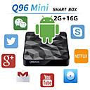 Χαμηλού Κόστους Συστήματα Ενδοεποικινωνίας Θυροτηλεόρασης-Factory OEMTV BOX X96 mini Android 7.1 Amlogic S905X 2 GB 16GB