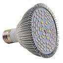 billige 3D Nattlamper-1pc 13 W 2500-3200 lm 78 LED perler Fullt Spektrum Voksende lysarmatur Rød Blå UV 85-265 V Hjem / kontor Vegetabilsk drivhus