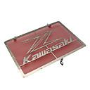 Χαμηλού Κόστους Αξεσουάρ για εργαλεία κουζίνας-από ανοξείδωτο χάλυβα μοτοσικλέτα ψυγείο προστατευτικό κάλυμμα μάσκα κάλυψης για kawasaki z750 z800 zr800 z1000 z1000sx
