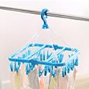 billige Kjøkkenverktøy Tilbehør-Plast Multifunksjonell / Sklisikker Klær Hanger, 1pc