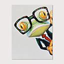 Χαμηλού Κόστους Κοστούμια για Ενήλικες-Hang-ζωγραφισμένα ελαιογραφία Ζωγραφισμένα στο χέρι - Ποπ Άρτ Μοντέρνα Περιλαμβάνει εσωτερικό πλαίσιο