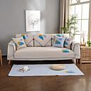baratos Cobertura de Sofa-almofada do sofá Contemporâneo Gravado Linho Capas de Sofa