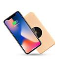 baratos Kits & Paletas para os Olhos-D8 Carregador Rápido / Carregador Sem Fios Carregador USB USB QC 2.0 / Qi / Conjunto de Carregador Não suportado 1.1 A / 1 A DC 9V / DC 5V para iPhone X / iPhone 8 Plus / iPhone 8