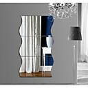 povoljno Zidne naljepnice-Dekorativne zidne naljepnice - Zidne naljepnice ogledala 3D Spavaća soba / Trpezarija