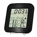 Χαμηλού Κόστους Αξεσουάρ κεφαλής για πάρτι-ts-73 ασύρματο βαρόμετρο εσωτερικού και εξωτερικού θερμόμετρου και υγρομέτρου ρολόι θερμόμετρο και υγρόμετρο