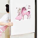 baratos esponjas de maquiagem-adesivos de parede bonito dos desenhos animados - animal adesivos de parede animais / paisagem sala de estudo / escritório / sala de jantar / cozinha-a