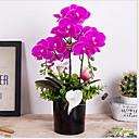 baratos Plantas Artificiais-Flores artificiais 1 Ramo Clássico Contemporâneo Moderno Flores eternas Flor de Mesa