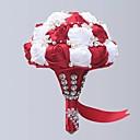 Χαμηλού Κόστους Λουλούδια Γάμου-Λουλούδια Γάμου Μπουκέτα Γάμου / Γαμήλιο Πάρτι Γκρο / Με Χάντρες / Κράμα αλουμινίου-μαγνησίου 11-20 ίντσες