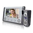Χαμηλού Κόστους Συστήματα Ενδοεποικινωνίας Θυροτηλεόρασης-LITBest 801M11 Ενσύρματη Ενσωματωμένο ηχείο 7 inch Hands-free 800*480 Pixel Βίντεο Τηλέφωνο Πόρτας Ένα σε Ένα