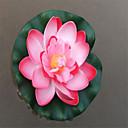 זול פרחים מלאכותיים-פרחים מלאכותיים 1 ענף קלאסי מודרני עכשווי סגנון מינימליסטי לוטוס פרחים לרצפה