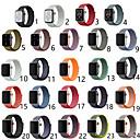 ราคาถูก วง Smartwatch-สายนาฬิกา สำหรับ Apple Watch Series 5/4/3/2/1 Apple สายยางสำหรับเส้นกีฬา ไนลอน สายห้อยข้อมือ