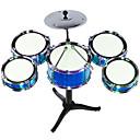 billiga Leksaksinstrument-trumma trumma kit leksaker tidig barndom pedagogiska musik slagverk hand trummor barn leksaker