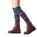 billige Undertøy og sokker til herrer-Dame Strømper / Leggvarmere Ultravarm Beige Navyblå Kakifarget En Størrelse